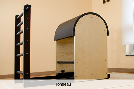 Les machines du studio : tonneau